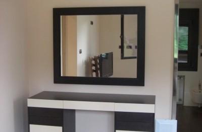 Consola / tocador con espejo