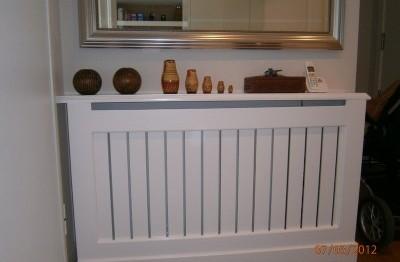 Mueble cubrerradiador