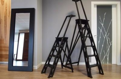 Escaleras y Espejo
