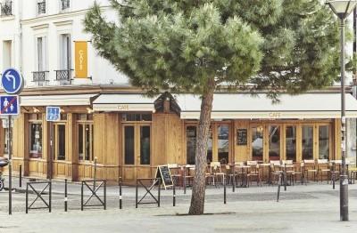 Cafetería en París